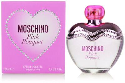 Moschino Pink Bouquet eau de toilette para mujer