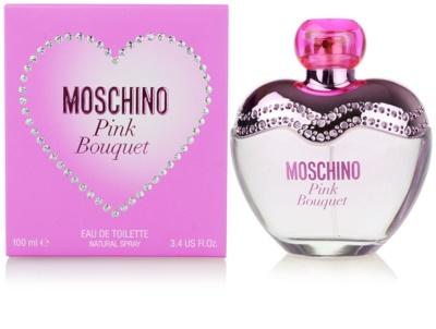 Moschino Pink Bouquet toaletná voda pre ženy