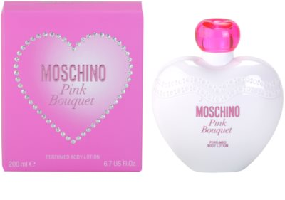 Moschino Pink Bouquet leite corporal para mulheres