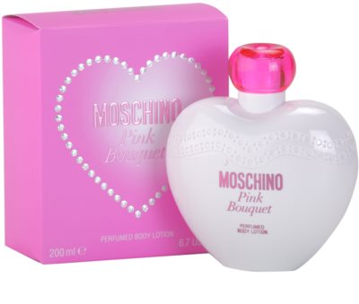 Moschino Pink Bouquet leite corporal para mulheres 1