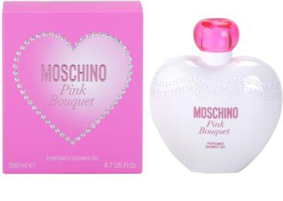Moschino Pink Bouquet gel de ducha para mujer