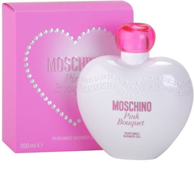Moschino Pink Bouquet gel de ducha para mujer 1