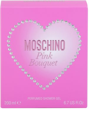 Moschino Pink Bouquet душ гел за жени 4