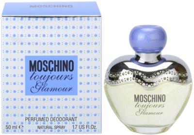 Moschino Toujours Glamour Deo mit Zerstäuber für Damen