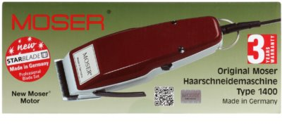Moser Pro Type 1400-0050 maszynka do strzyżenia włosów 2