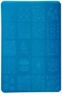 Moyra Nail Art Celebration placa de carimbo para unhas