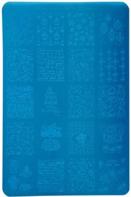 Moyra Nail Art Celebration Vorlagenplatte für Deko-Stempel für Nägel