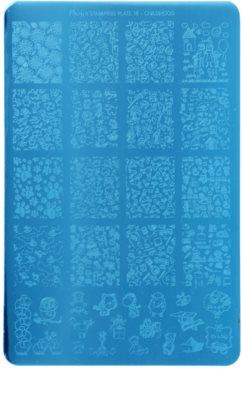 Moyra Nail Art Childhood Vorlagenplatte für Deko-Stempel für Nägel
