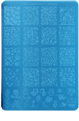 Moyra Nail Art Childhood дощечка для відбитку під  печатку для нігтів