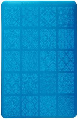 Moyra Nail Art Damask Drapery šablona z vzorčki za nohte