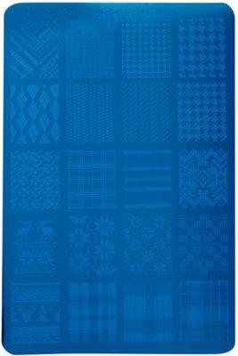 Moyra Nail Art Fabric Texture destička razítek na nehty