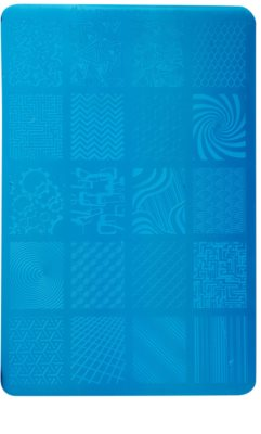 Moyra Nail Art Geometry платка за печати за нокти