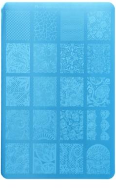Moyra Nail Art Lacelove Vorlagenplatte für Deko-Stempel für Nägel