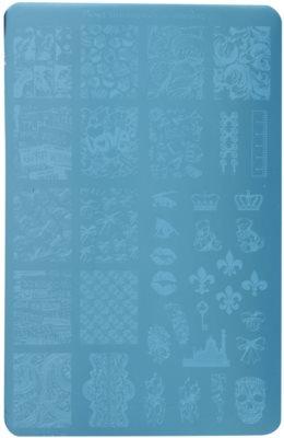 Moyra Nail Art Memories Vorlagenplatte für Deko-Stempel für Nägel