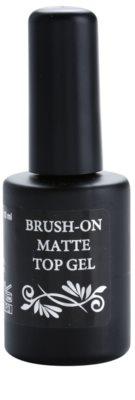 Moyra Nails vrchní lak na gelové nehty s matným efektem