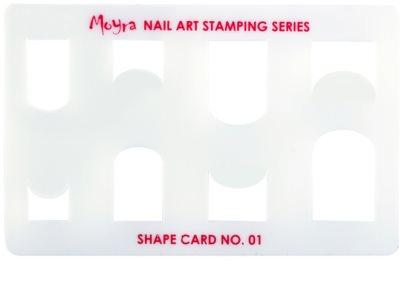 Moyra Nail Art sabloane pentru unghii