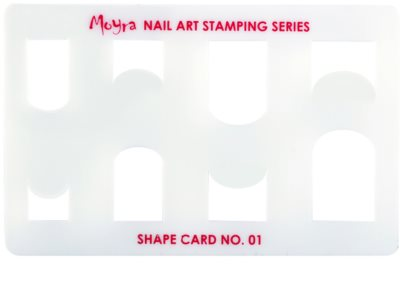 Moyra Nail Art Schablonen für Nägel