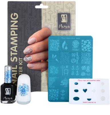 Moyra Nail Art Nail Stamping kozmetika szett IV. 1