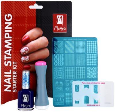 Moyra Nail Art Nail Stamping set cosmetice III. 1