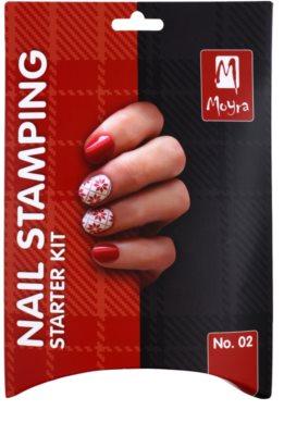 Moyra Nail Art Nail Stamping lote cosmético III. 2