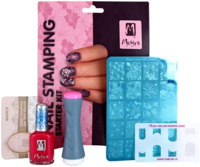Moyra Nail Art Nail Stamping lote cosmético VI. 1