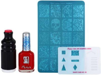 Moyra Nail Art Nail Stamping set cosmetice II.