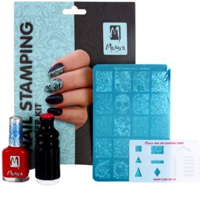 Moyra Nail Art Nail Stamping set cosmetice II. 1