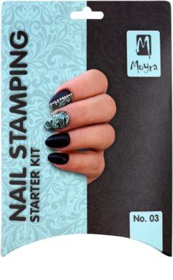 Moyra Nail Art Nail Stamping set cosmetice II. 2