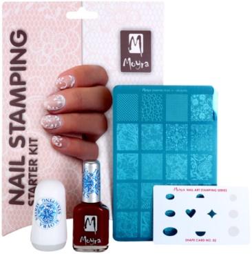 Moyra Nail Art Nail Stamping set cosmetice V. 1