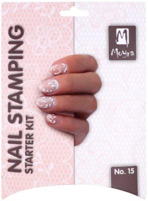 Moyra Nail Art Nail Stamping kosmetická sada V. 2