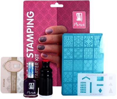 Moyra Nail Art Nail Stamping Kosmetik-Set  VII. 1