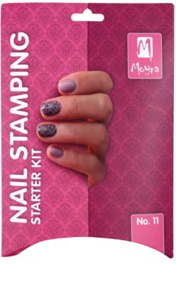 Moyra Nail Art Nail Stamping Kosmetik-Set  VII. 2