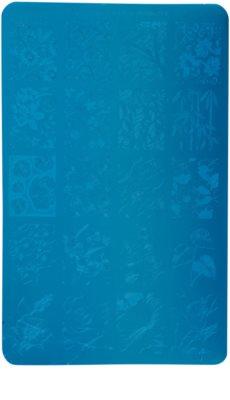 Moyra Nail Art Florality 2 placa de carimbo para unhas
