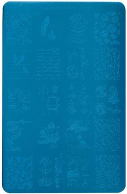 Moyra Nail Art Vintage Vorlagenplatte für Deko-Stempel für Nägel