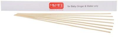 Mr & Mrs Fragrance Accessories betisoare de rezerva pentru odorizant de camera  ratan (Baby Ginger + Baby Walter)