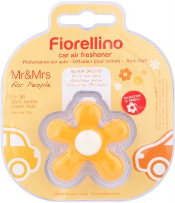Mr & Mrs Fragrance Fiorellino Black Orchid parfum pentru masina