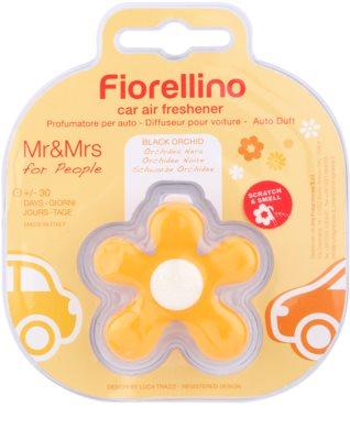 Mr & Mrs Fragrance Fiorellino Black Orchid vůně do auta