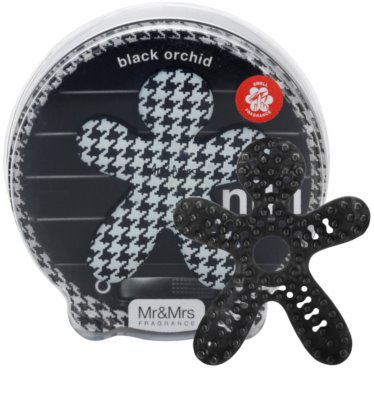Mr & Mrs Fragrance Niki Black Orchid ambientador para coche   recargable 1