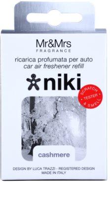 Mr & Mrs Fragrance Niki Cashmere ambientador auto   recarga de substituição 2