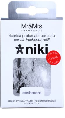 Mr & Mrs Fragrance Niki Cashmere vôňa do auta   náhradná náplň 2