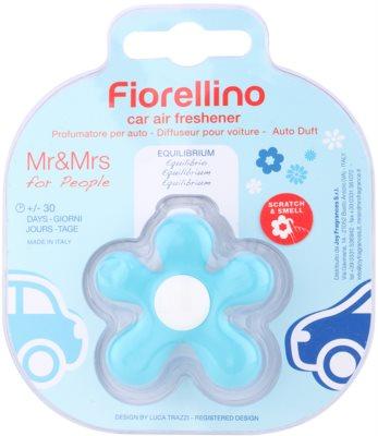 Mr & Mrs Fragrance Fiorellino Equilibrium parfum pentru masina