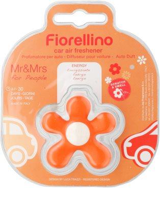 Mr & Mrs Fragrance Fiorellino Orange Car Air Freshener