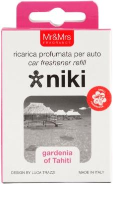 Mr & Mrs Fragrance Niki Gardenia of Tahiti illat autóba   utántöltő 3