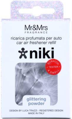 Mr & Mrs Fragrance Niki Glittering Powder ambientador para coche   recarga de recambio 2