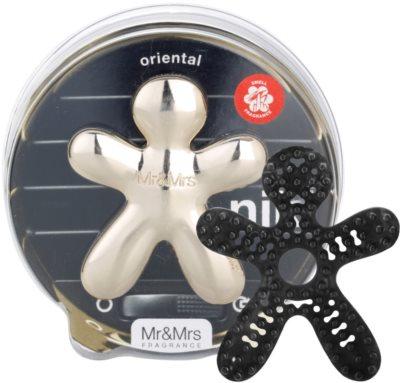 Mr & Mrs Fragrance Niki Oriental parfum pentru masina   reincarcabil 1