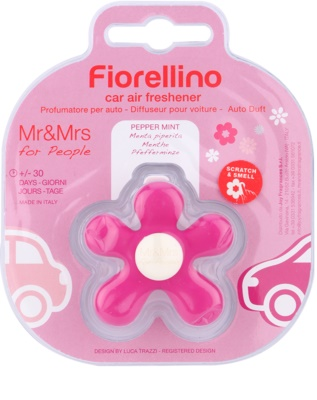 Mr & Mrs Fragrance Fiorellino Pepper Mint ambientador auto