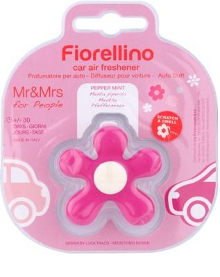 Mr & Mrs Fragrance Fiorellino Pepper Mint ambientador para coche