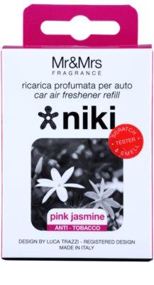 Mr & Mrs Fragrance Niki Pink Jasmine vôňa do auta   náhradná náplň 2
