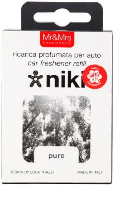 Mr & Mrs Fragrance Niki Pure parfum pentru masina   Refil 3