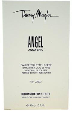 Mugler Angel Aqua Chic 2013 eau de toilette teszter nőknek 1